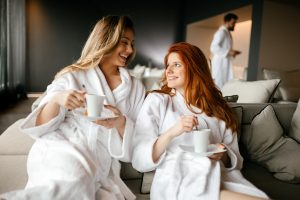 spa guests